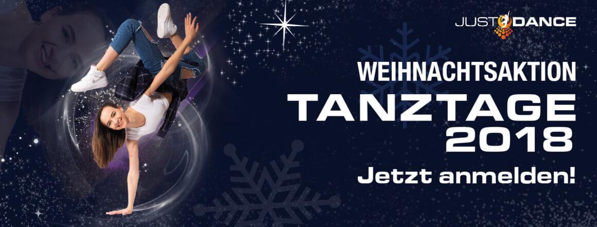 Tanztage 2018 – Start der Weihnachtsaktion