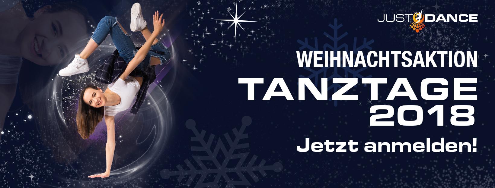 Tanztage 2018 - Start der Weihnachtsaktion - Tanztage